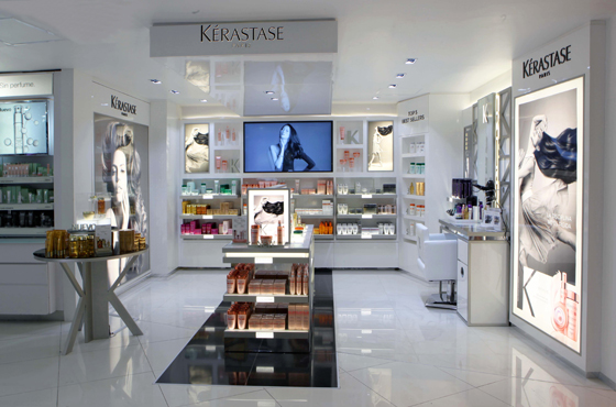 The second Kérastase Travel Retail Hair Salon opened in collaboration with Grupo Wisa in Mexico City Airport's Terminal 2 on May 22.