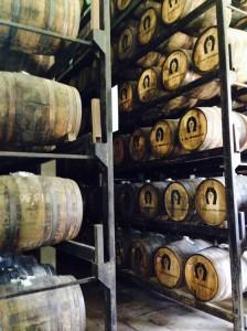 The oak barrels play a critical role in crafting Herradura Tequila.