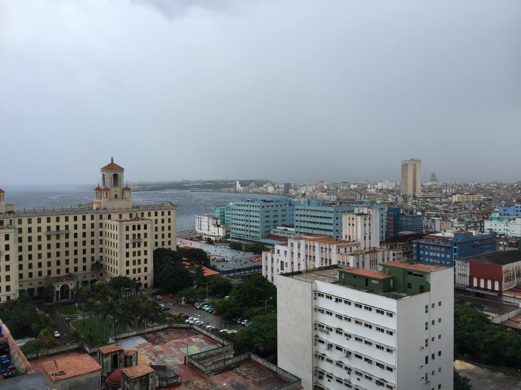View of the Havana skyline including the Hotel Nacional taken in August 2015. Photos by Raymond Kattoura.