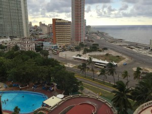 View from Hotel Nacional in Havana