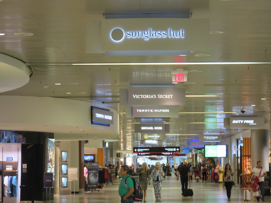 The South Terminal Concession Hall features shops catering to the international passengers who travel from MIA.