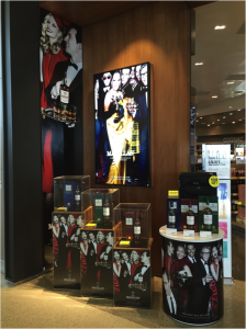 EWTRA featured the new visuals for The Macallan Masters of Photography edition by Mario Testino at Los Angeles International Airport's Tom Bradley International Terminal in September