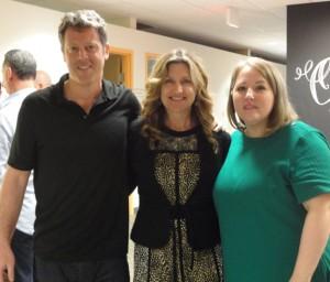 Hand in Hand for Haiti Advisory Board member Jeff Feldman, Starboard's Robin Rosenbaum-Andras, and HHforH Executive Director Erin Morales