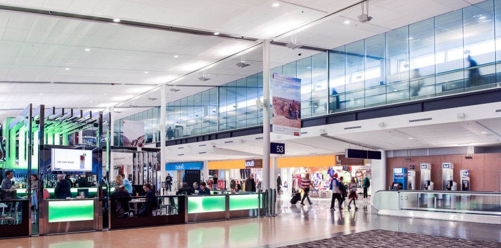 Montreal Airport's airy, open new layout delivers a Sense of Place with Montreal-themed food offers and shopping.