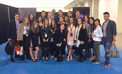 L'Oréal's Travel Retail Americas team at Emerge Americas