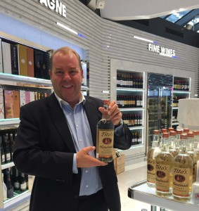 Tito's Handmade Vodka Duty Free Specialist, Barry Geoghegan, invites travelers of all nationalities across Asia to discover  Tito's.