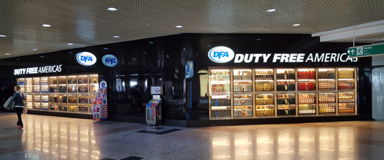 DFA opened this 5,500 square foot duty free tore in the post-customs area of Porto Alegre's Salgado Filho International Airport in October 2016.