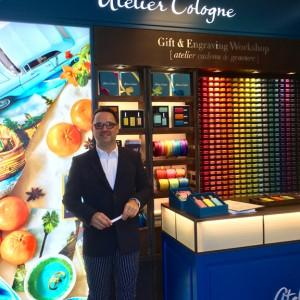 Atelier Cologne founder Christophe Cervasel