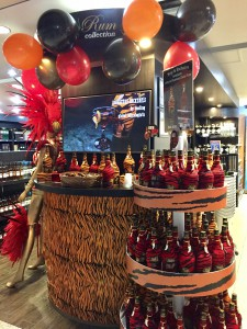Gautom Menon has launched his Wild Tiger rum in key travel retail venues over the past 18 months, including with ARI in its Runway Duty Free shop in Barbados airport.