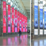 Lancôme increased event awareness with impactful digital screens at the entrance of the terminal, offline campaigns like bounce back tickets with China Southern Airlines and online campaigns designed to use social media platforms to inform travelers of the event.