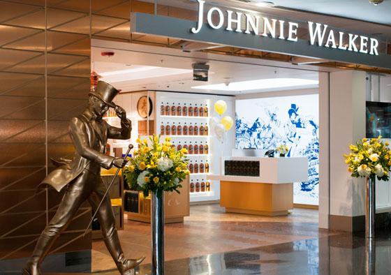 Johnnie Walker Storeslider