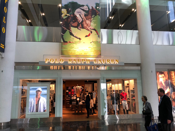 various colors 44f3f 6749c DFA opens first U. S. Polo Ralph Lauren airport shop in MIA ...