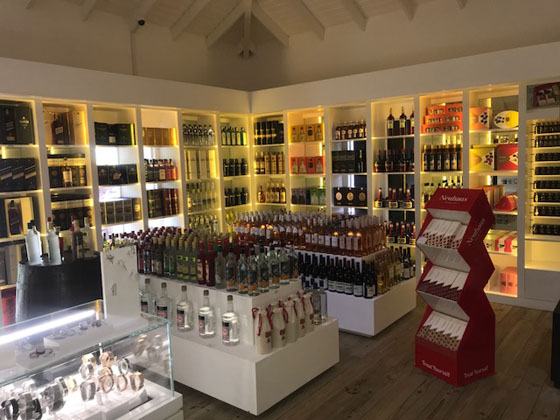Rouge's Port Louis store in Grenada, which caters to an exclusive audience of mega-yacht passengers, report business is booming,.