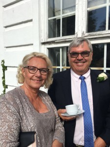 "Torben's constant throughout his entire career has been ""H,"" his wife Helle."