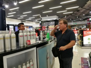 DANZKA Vodka conducted tastings at Lima Airport in May.
