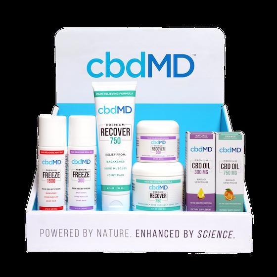 cbdMD leads the way for WB Canna Co. & Wellness